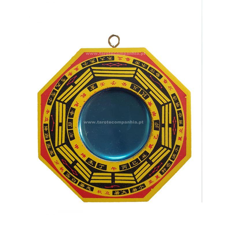 Ba-guá amarelo 11 cm