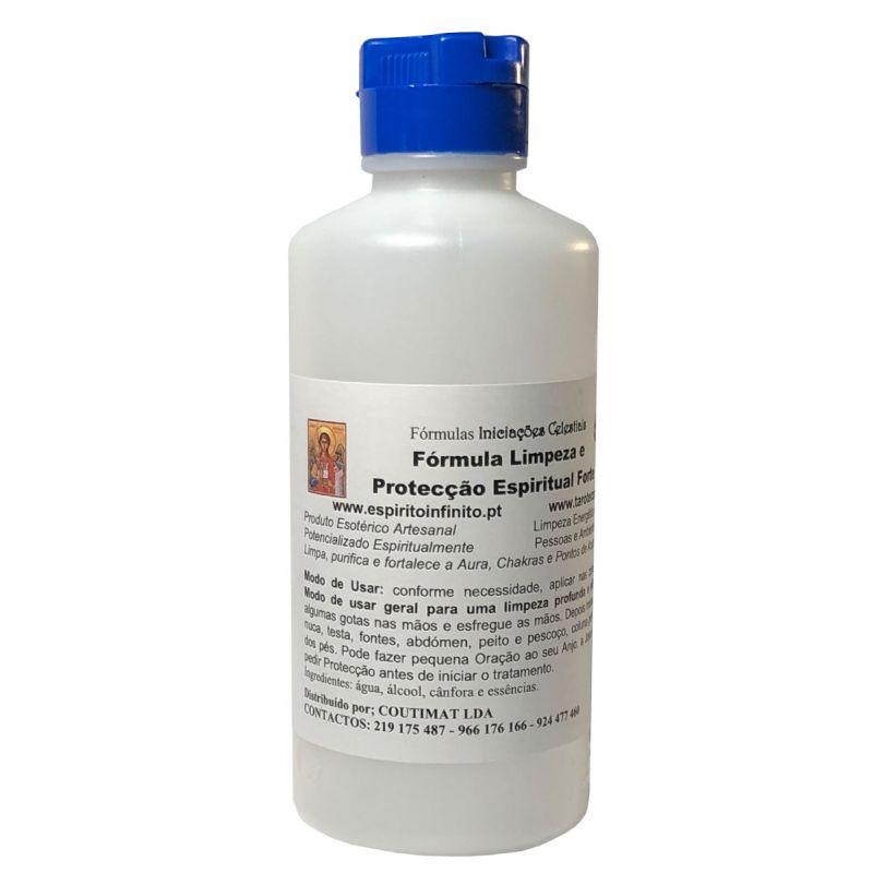 Fluido de Limpeza e Protecção Espiritual Forte 250 mL