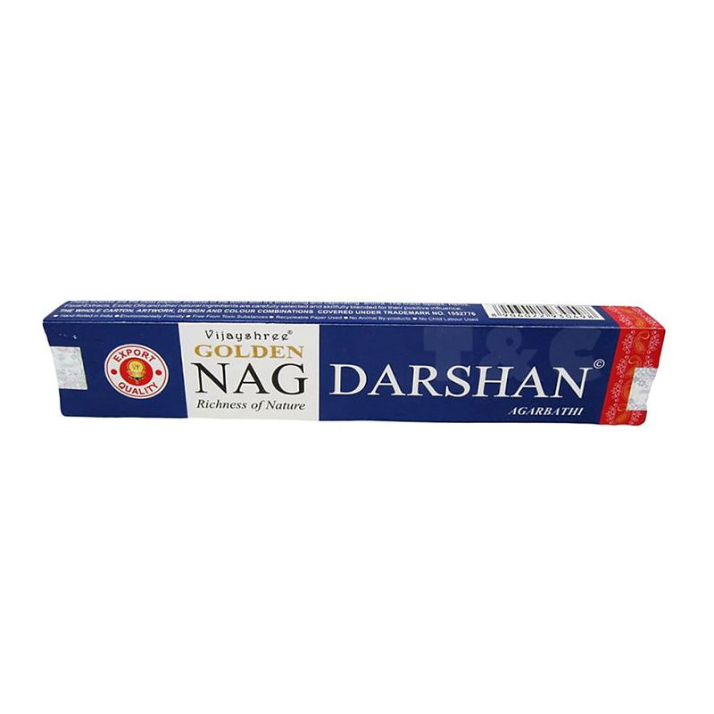 Incenso Nag Champa Golden Meditation