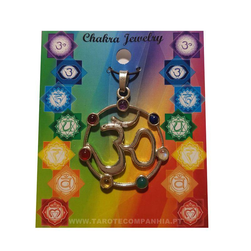 Pendente 7 Chakras com OM